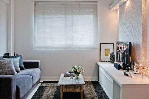 Salas pequenas e inspiradoras duoblog for Salas en l pequenas