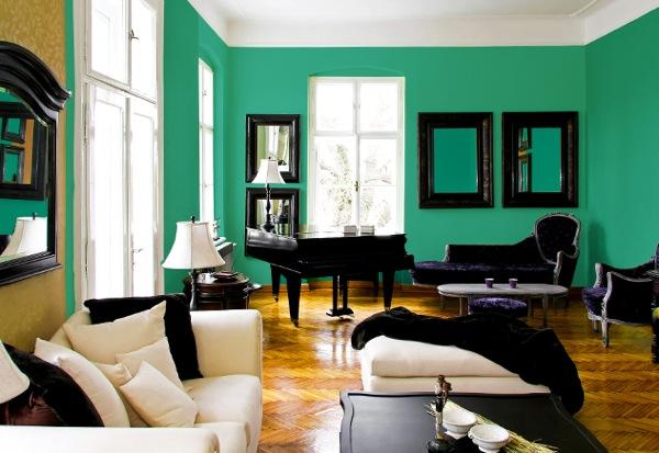 decoracao de interiores paredes pintadas:Publicado 28 de março de 2013 às 600 × 413 in Verde esmeralda: como